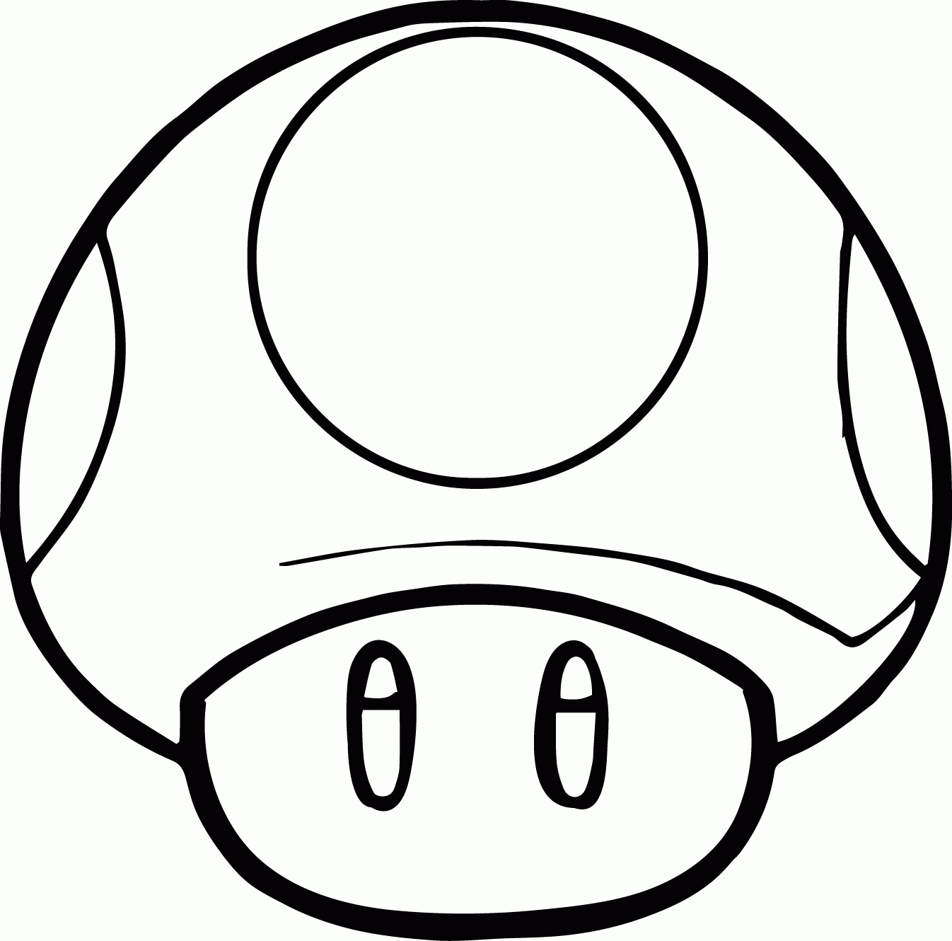 mushroom coloring pages - toad coloring pages from super mario
