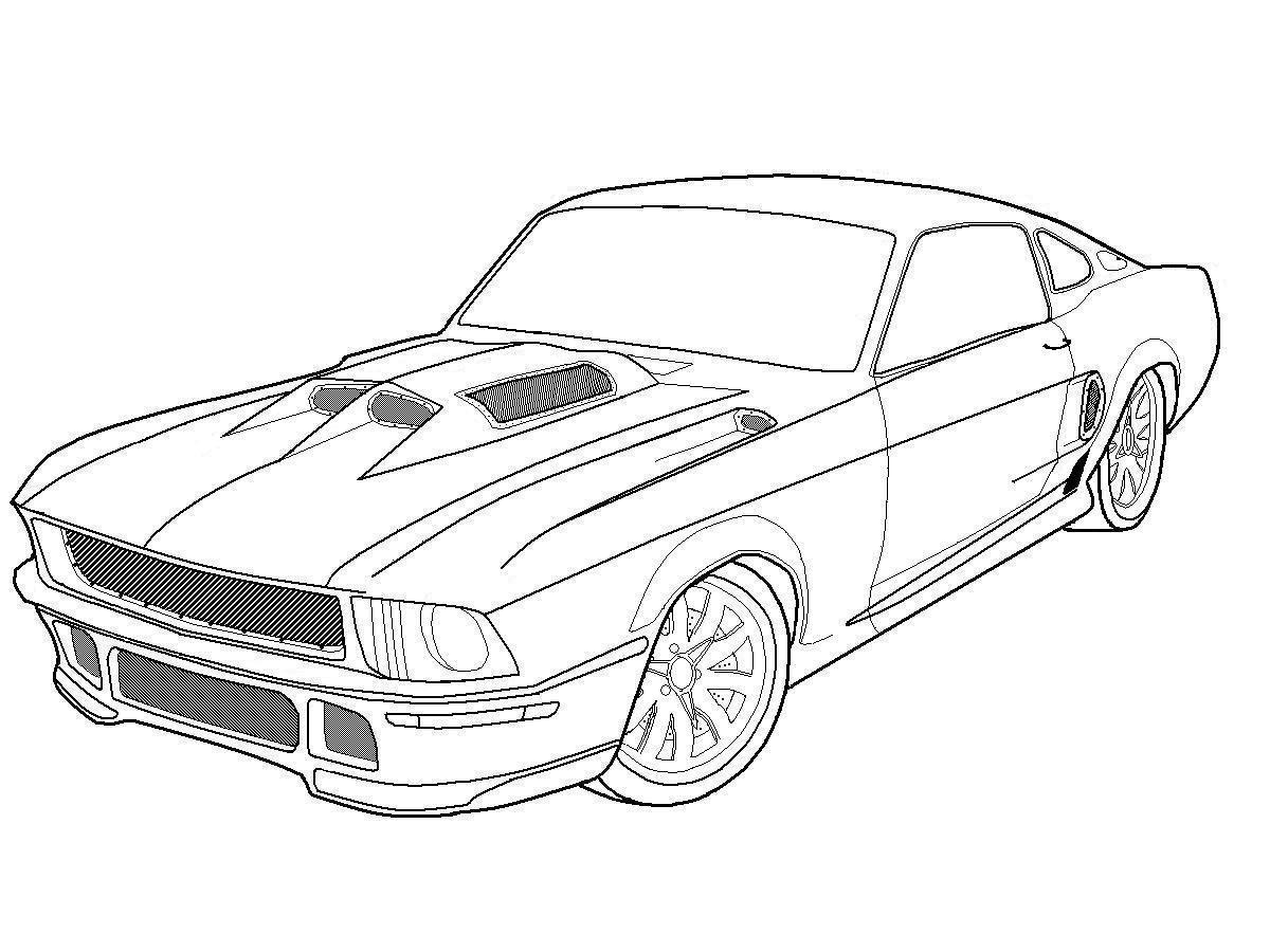 mustang coloring pages - mustang coloring pages