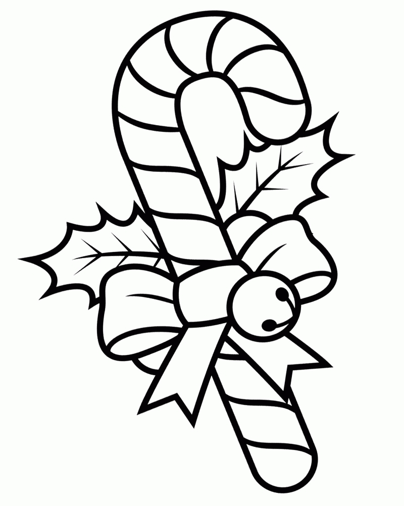 my little pony coloring pages - christmas candy canes coloring pages