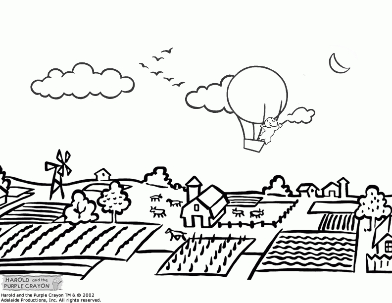 my little pony coloring pages - landscape coloring pages for adults