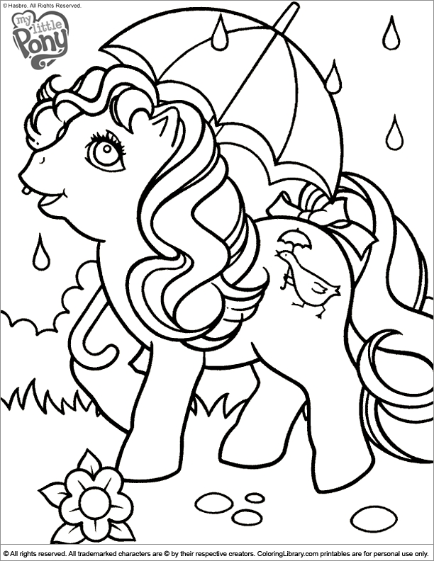 my little pony coloring pages - page 2084