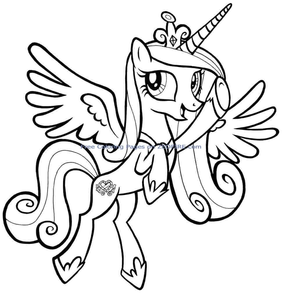 my little pony coloring pages to print -