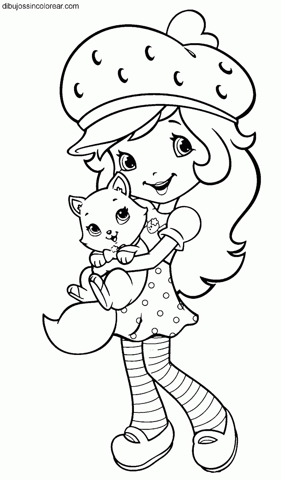 my little pony equestria girls coloring pages - dibujos de tarta de fresa strawberry