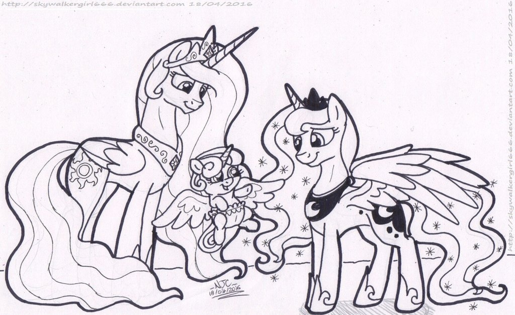 my little pony friendship is magic coloring pages - q=princess flurry heart