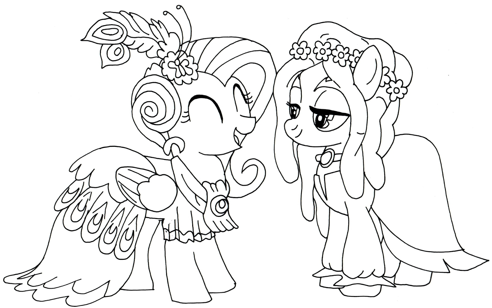 my little pony printable coloring pages - free little pony coloring pages