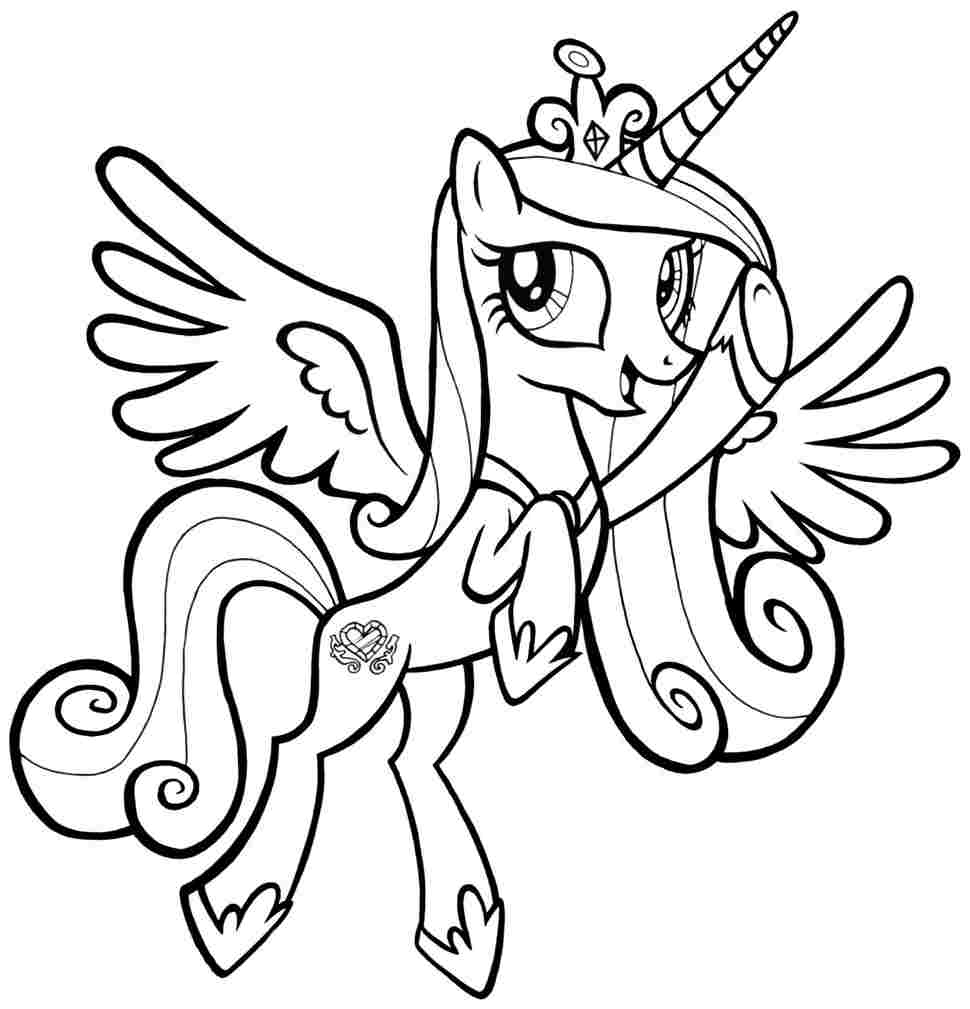 my little pony printable coloring pages - printable coloring pages little pony