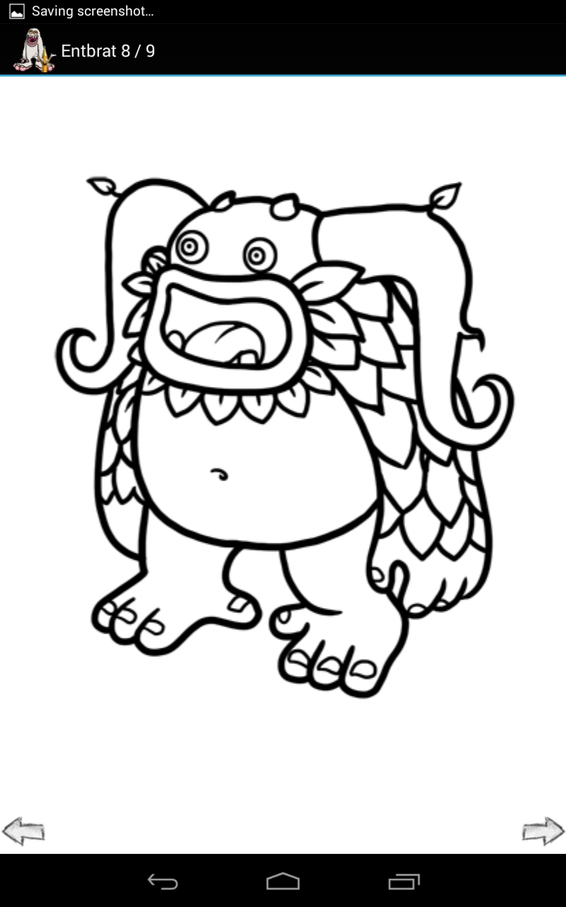 my singing monsters coloring pages -