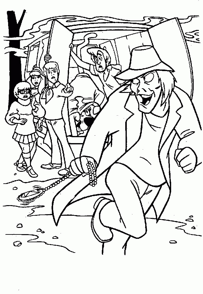 mystery coloring pages - mystery machine coloring pages sketch templates