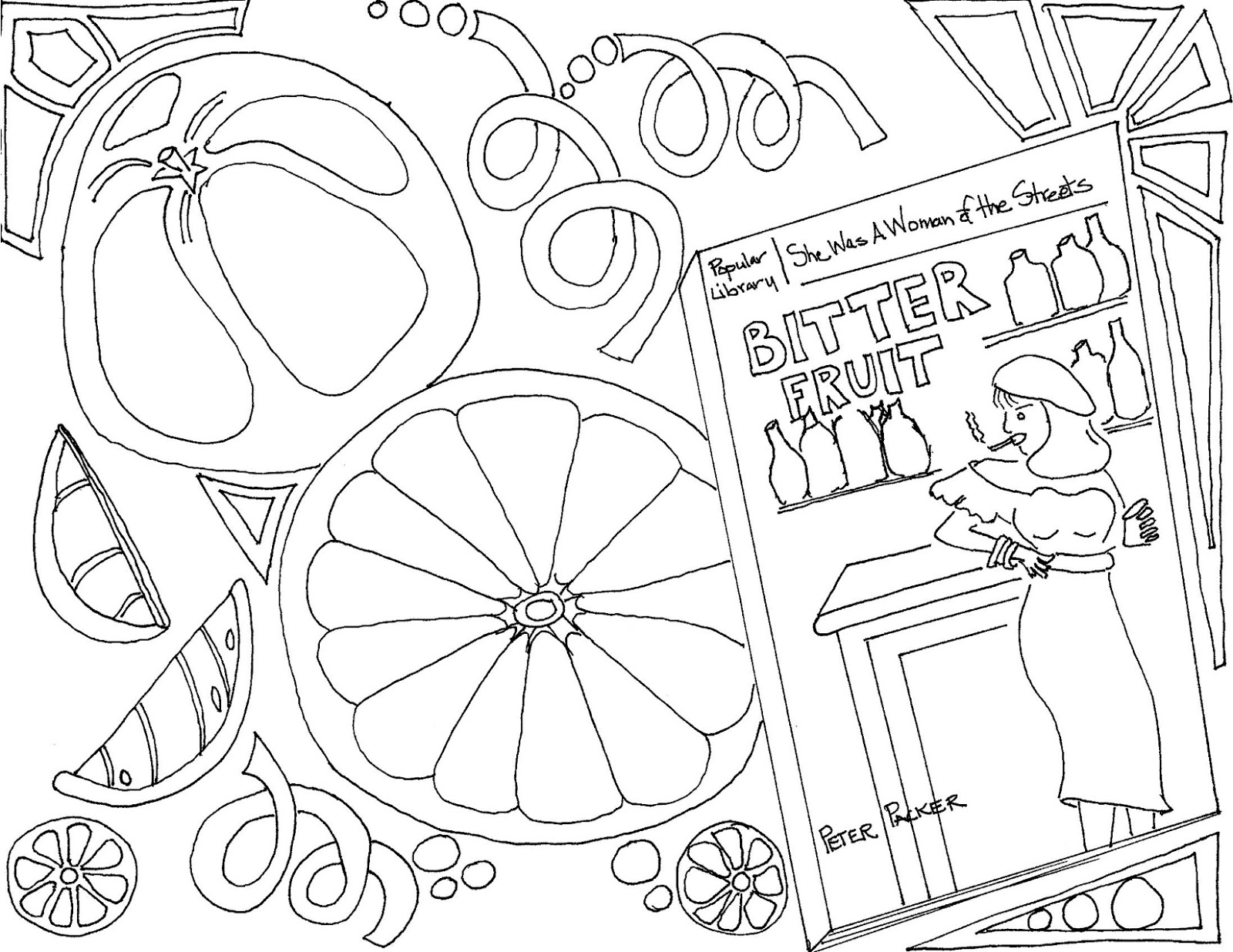 mystery coloring pages - adult coloring pages of mystery