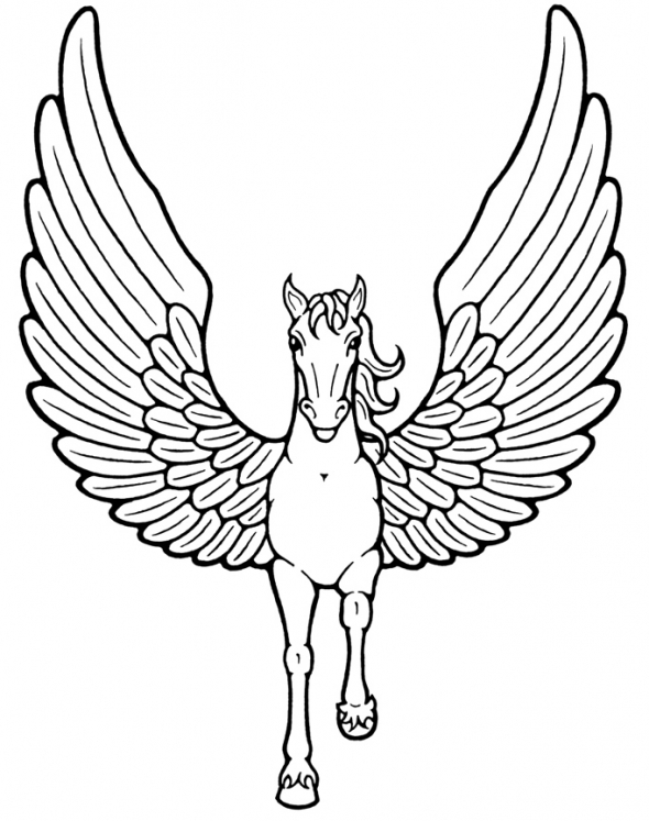 mythical creatures coloring pages - dark mythical creature coloring pages sketch templates