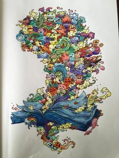 mythomorphia colored pages - coloring books