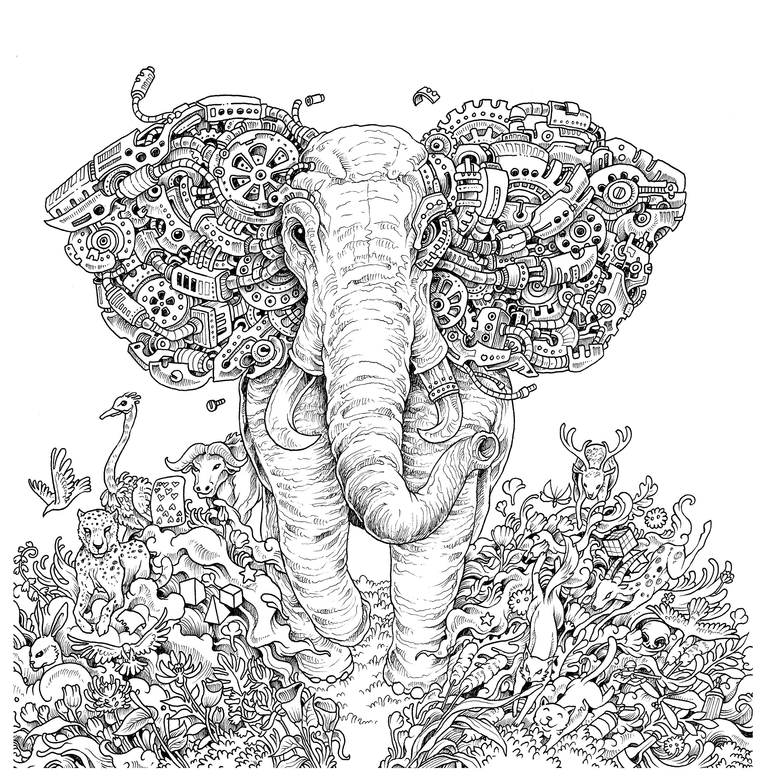 mythomorphia colored pages -