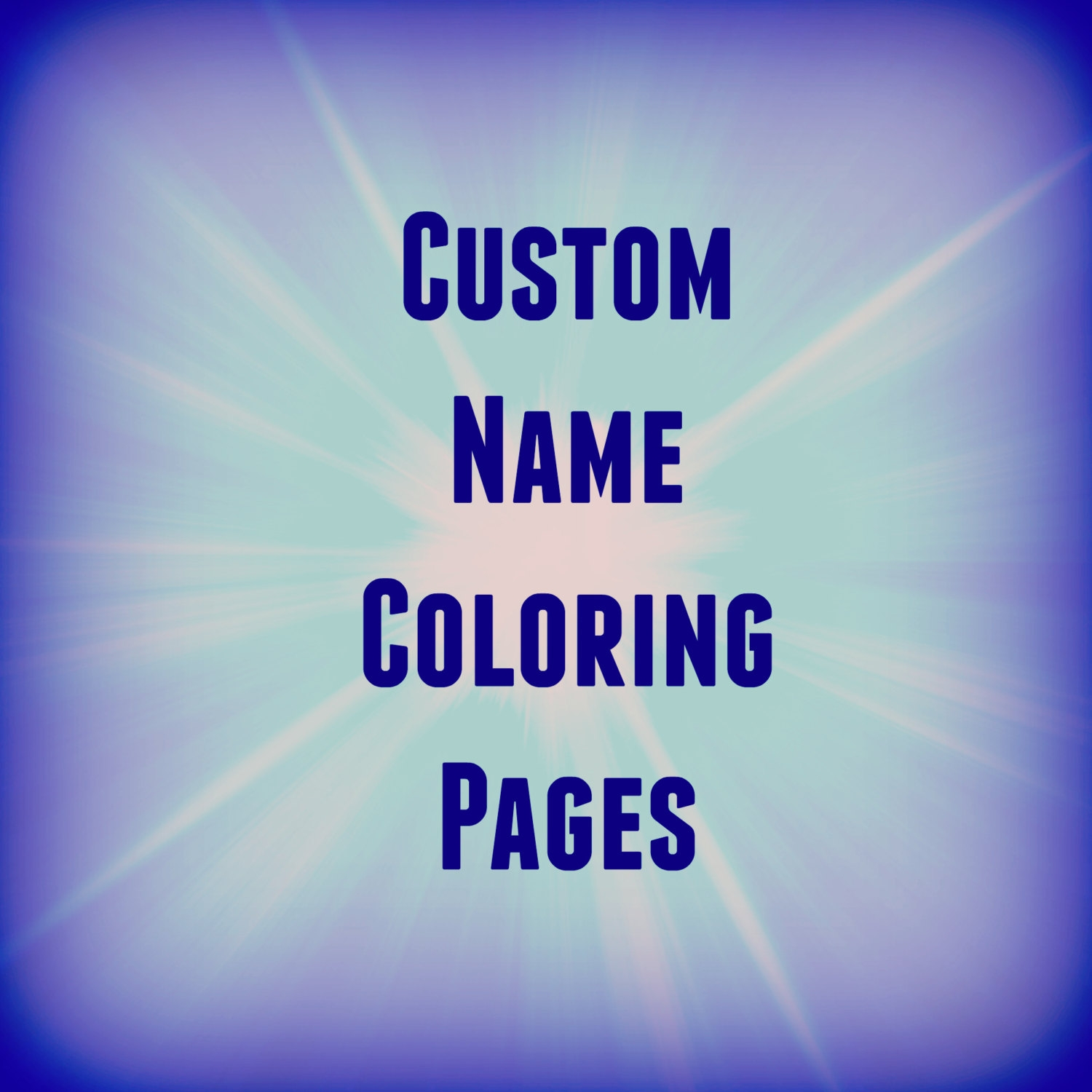 25 name coloring pages selection - Name Coloring Pages 2