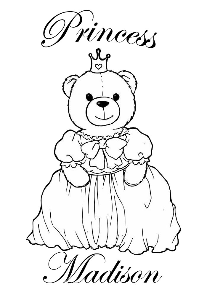 name coloring pages - coloring pages with girls names