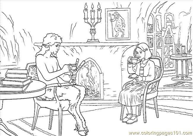 narnia coloring pages -