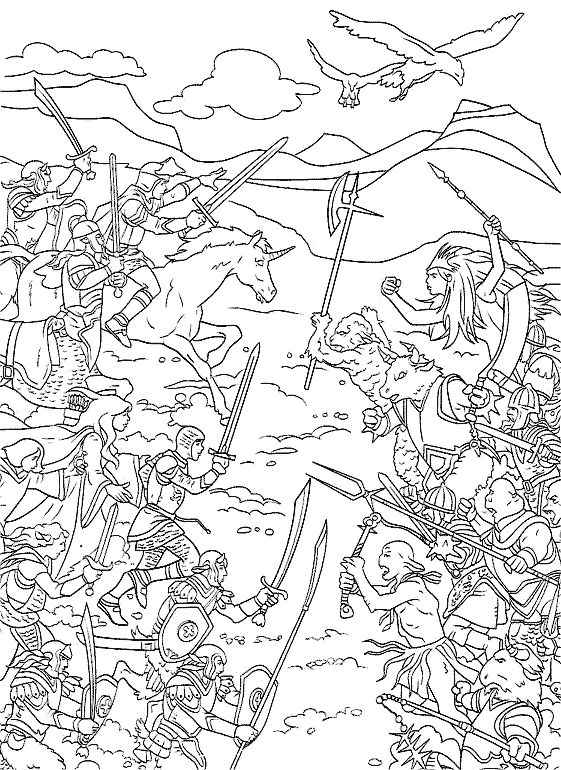 28 Narnia Coloring Pages Images Free Coloring Pages Part 3