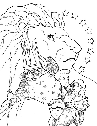 Narnia Coloring Pages - Narnia Coloring Scenery Coloring Pages
