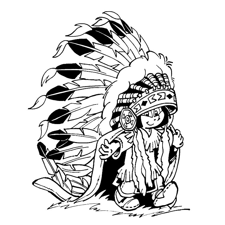 native american coloring pages selection de coloriages in ns avec des heros de dessins animes - Native American Coloring Pages