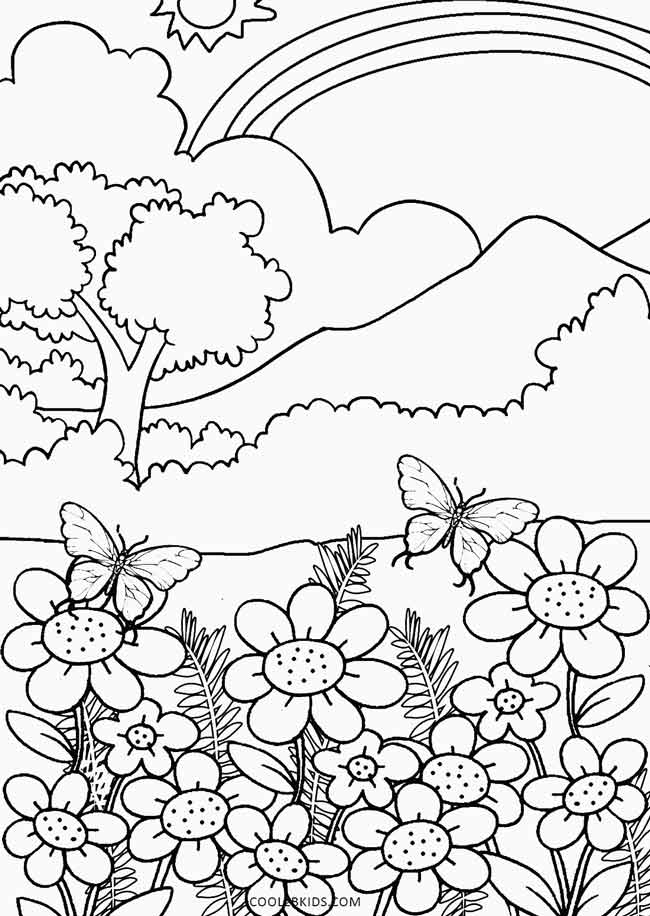 Nature Coloring Pages - Free Coloring Pages Of Nature