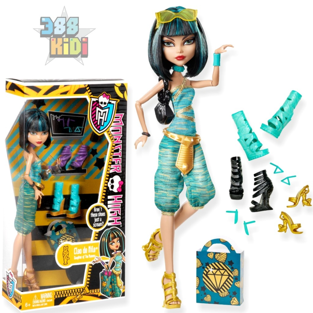 nerf coloring pages - jouet monster high poupee cleo de nile 4