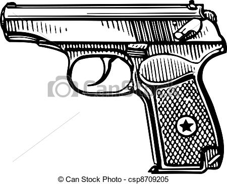 nerf gun coloring pages - pistolet
