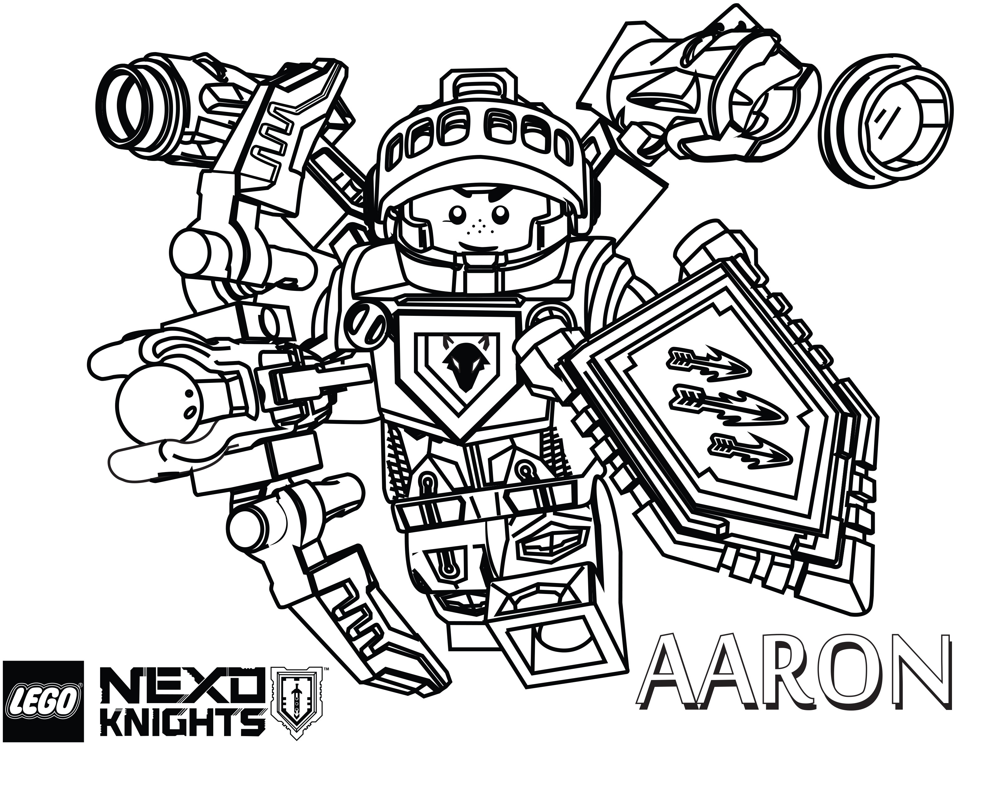 Nexo Knight Coloring Pages - Lego Nexo Knights Clay Coloring Pages Coloring Pages