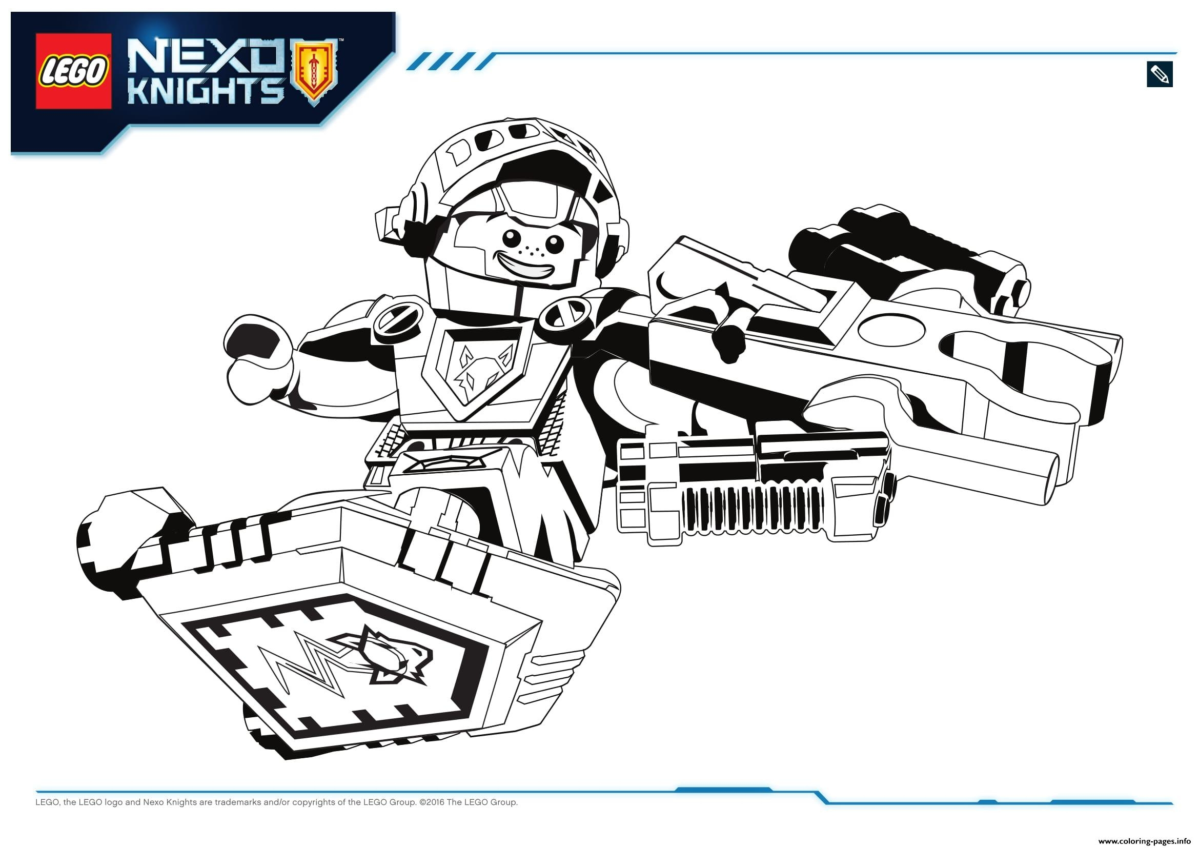 23 Nexo Knights Coloring Pages Collections | FREE COLORING PAGES