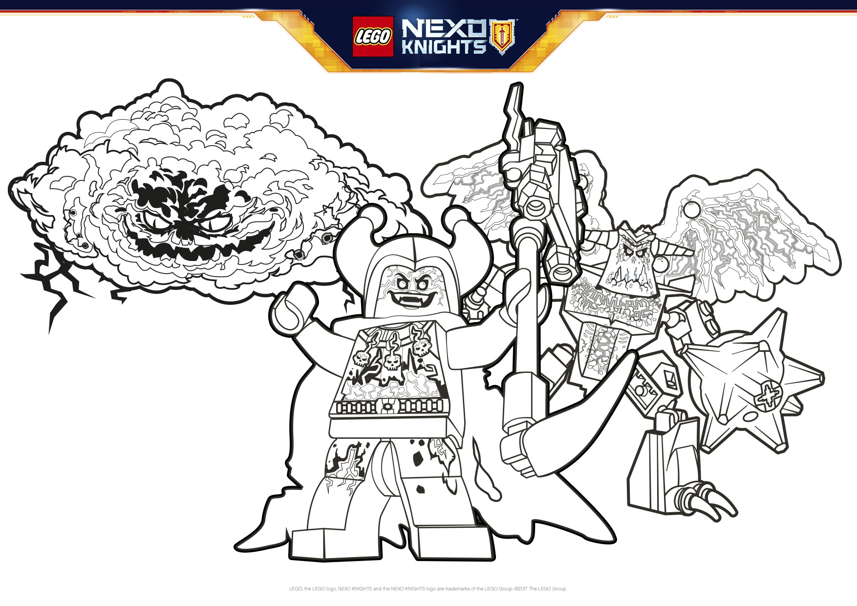 Nexo Knights Ausmalbilder Jestro : 23 Nexo Knights Coloring Pages Collections Free Coloring Pages