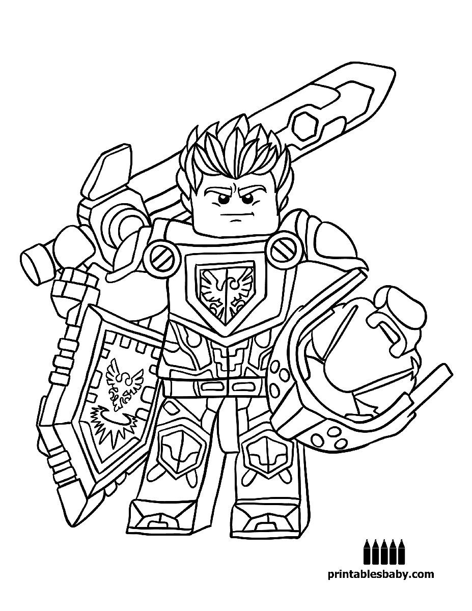 23 Nexo Knights Coloring Pages Collections | FREE COLORING PAGES ...