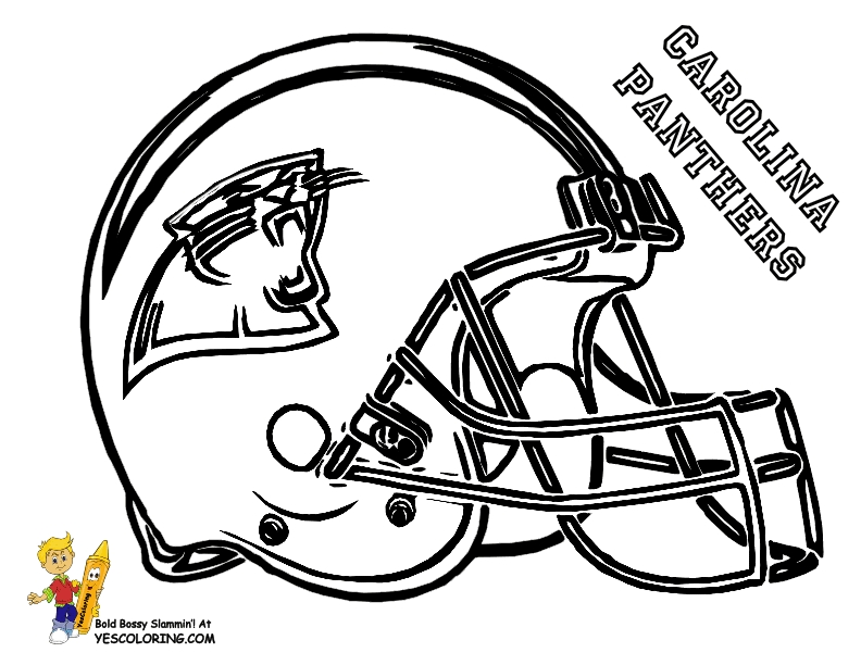 nfl football coloring pages - nfl football helmet coloring pages