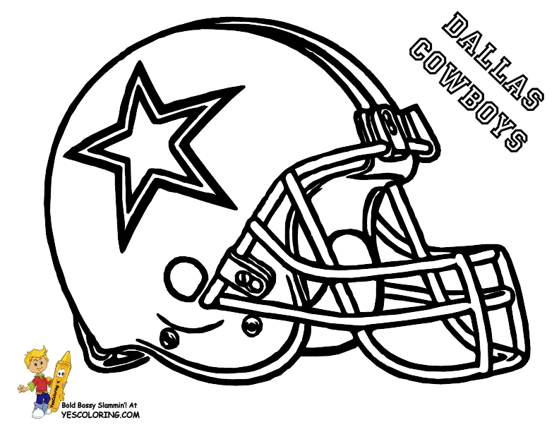 nfl football coloring pages - nfl football helmets coloring pages