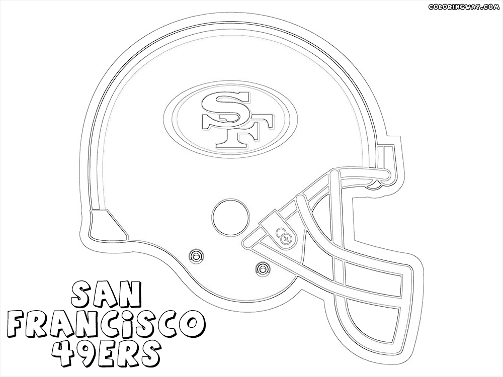 nfl helmet coloring pages - nfl helmets
