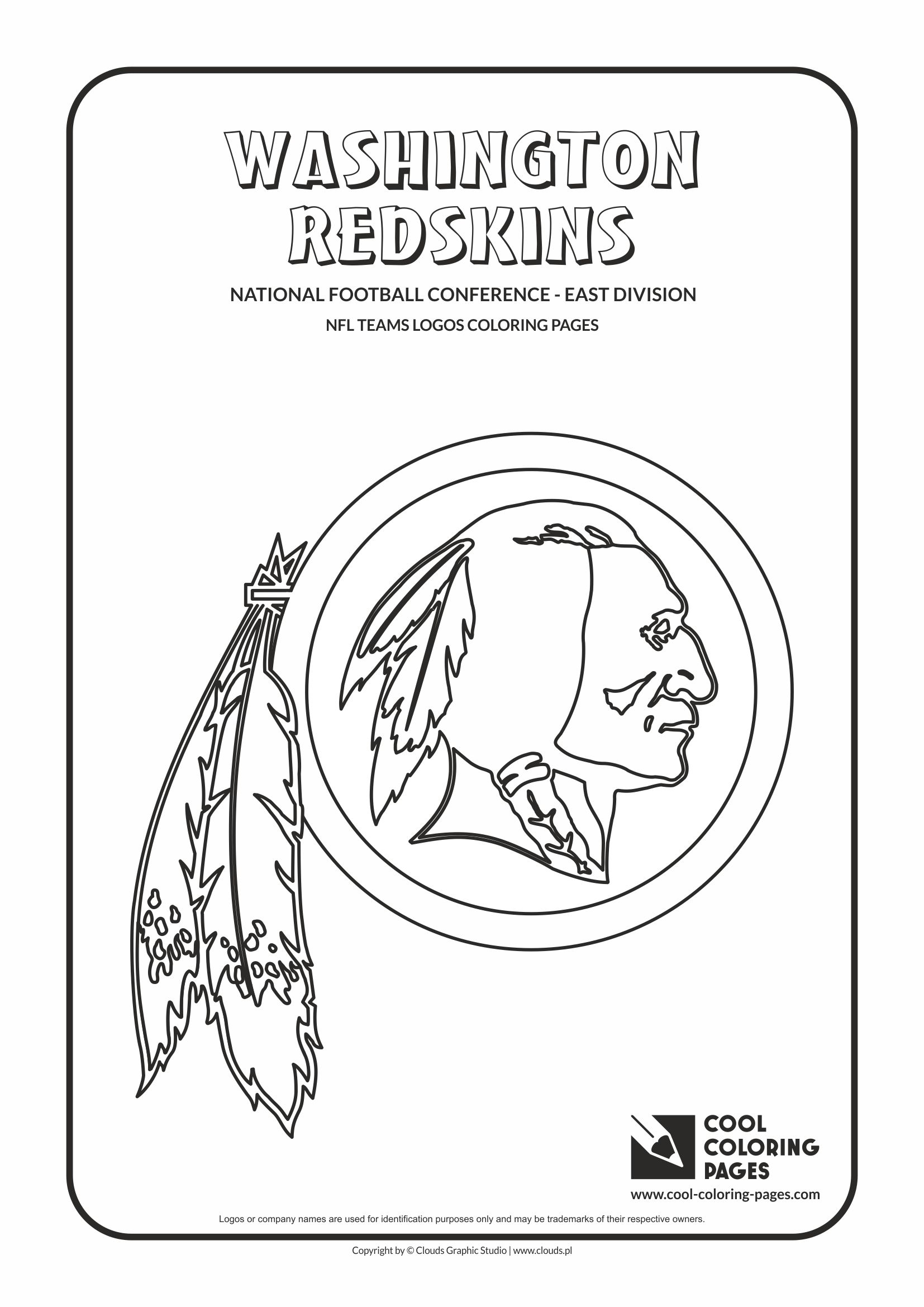 nfl logo coloring pages - nfl teams logos coloring pages