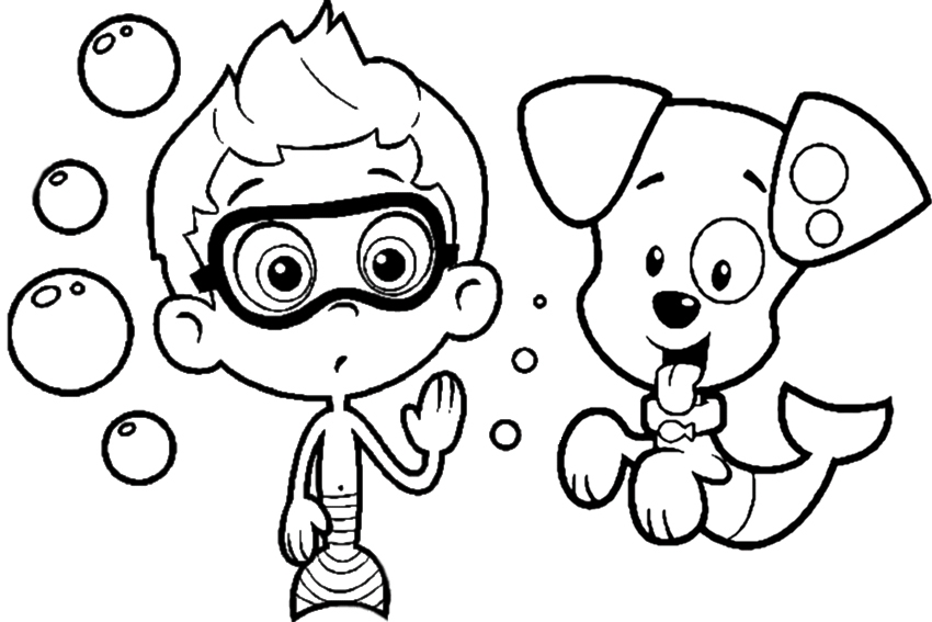 nick jr coloring pages - nick jr color pages