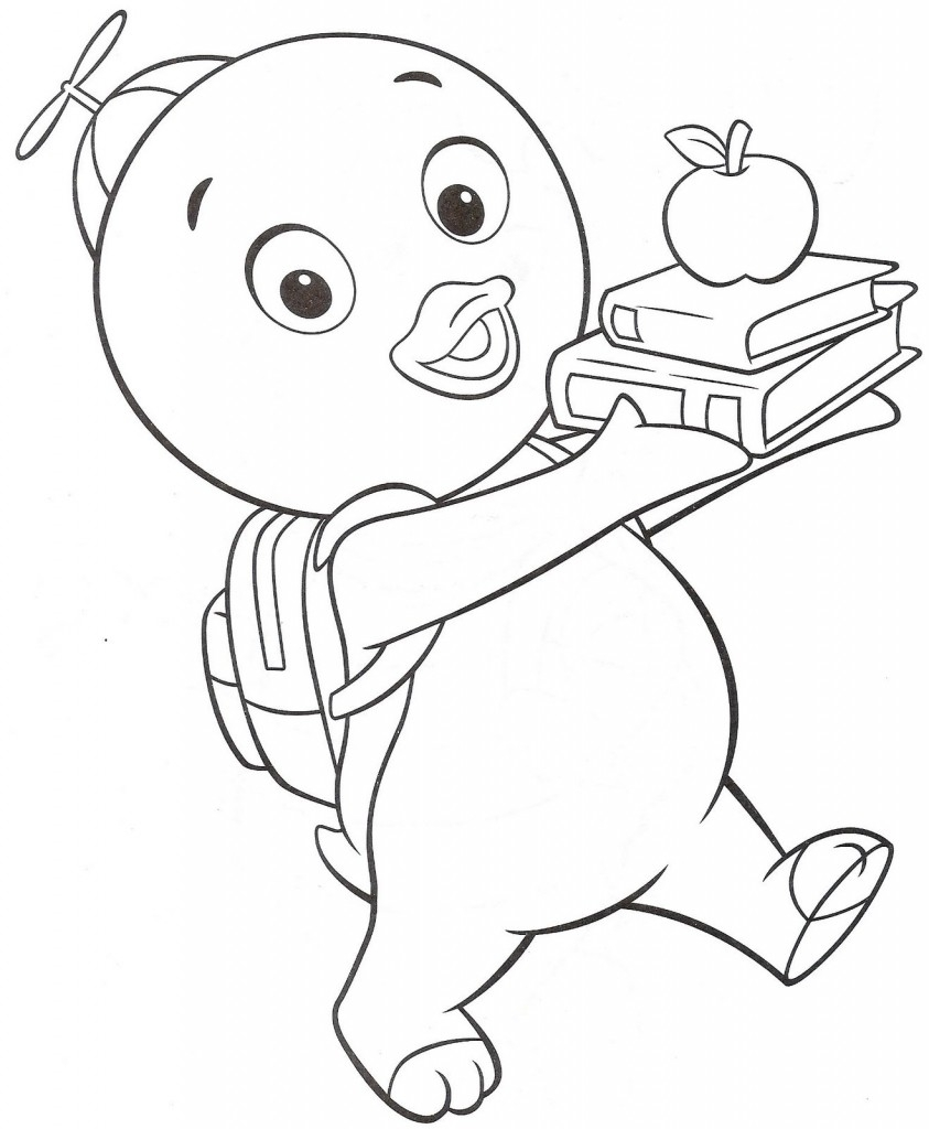 nickelodeon coloring pages - backyardigans desenhos para colorir e imprimir
