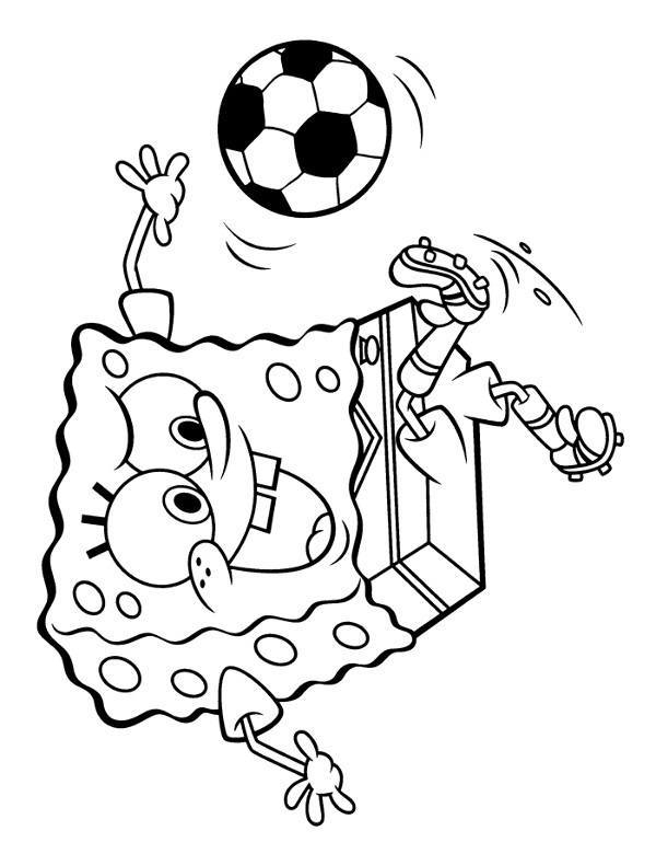 nickelodeon coloring pages - kolorowanka spongebob 10