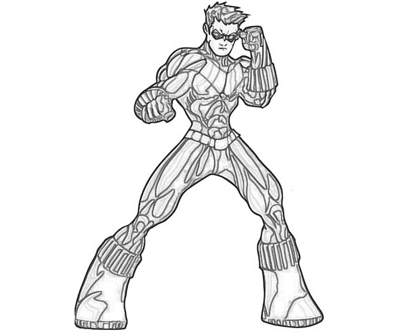 28 Nightwing Coloring Pages Collections