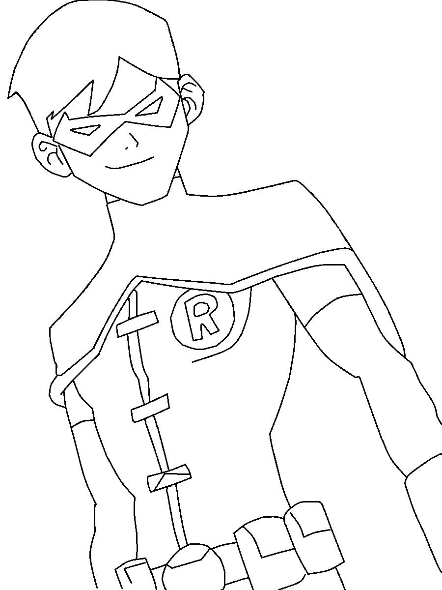 nightwing coloring pages - coloring pages