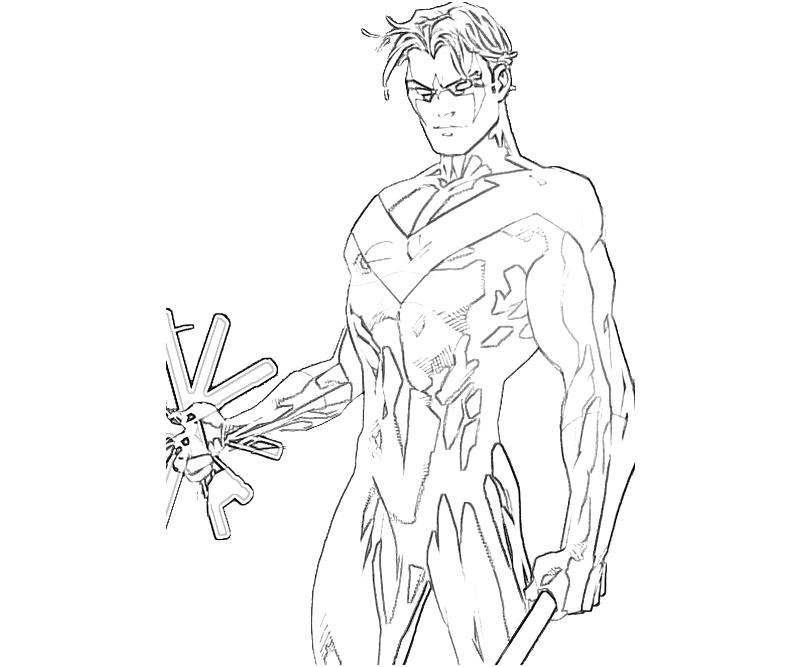28 Nightwing Coloring Pages Collections | FREE COLORING PAGES - Part 3