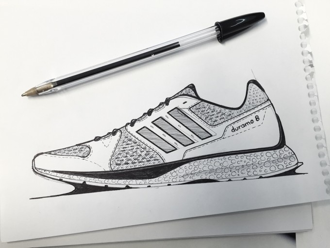 nike coloring pages - concept sketches by tom weightman