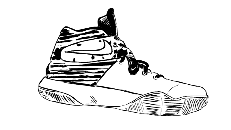 nike shoes coloring pages - nike kyrie 2 review