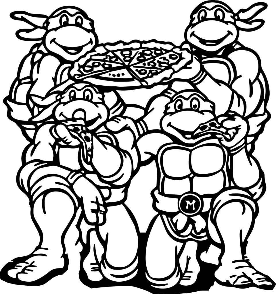 ninja turtles coloring pages - printable ninja turtles coloring pages