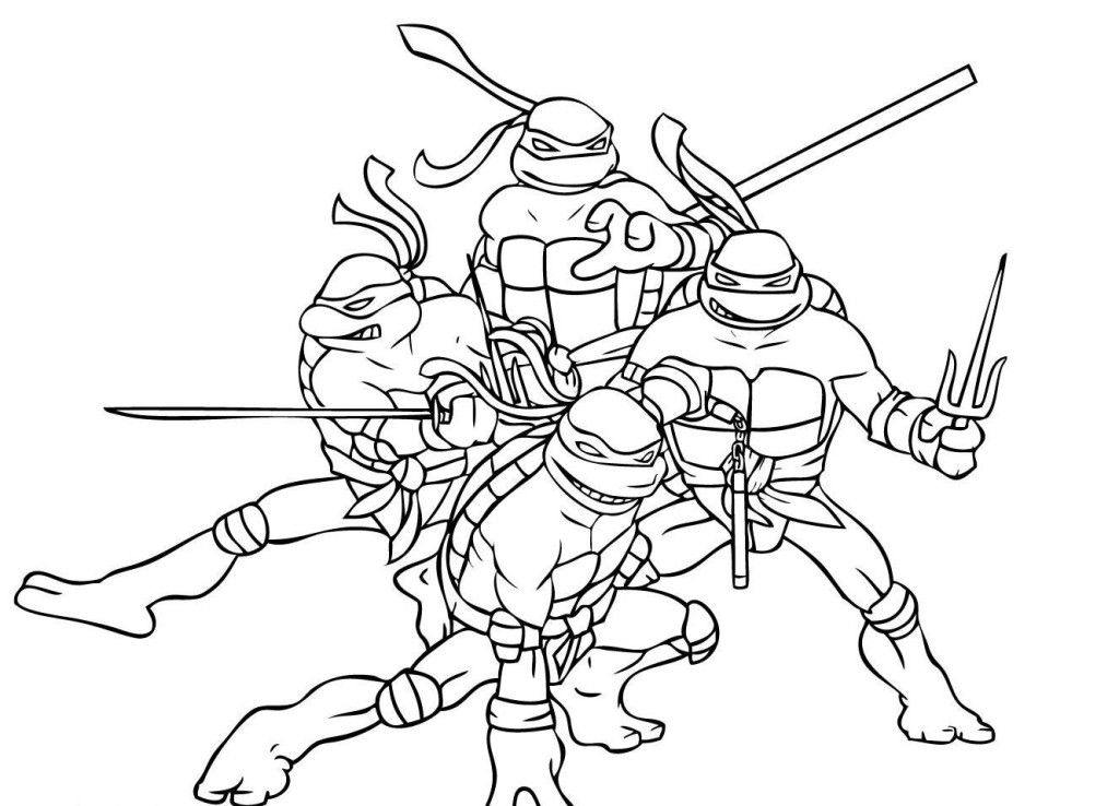 ninja turtles coloring pages - ninja turtle coloring pages
