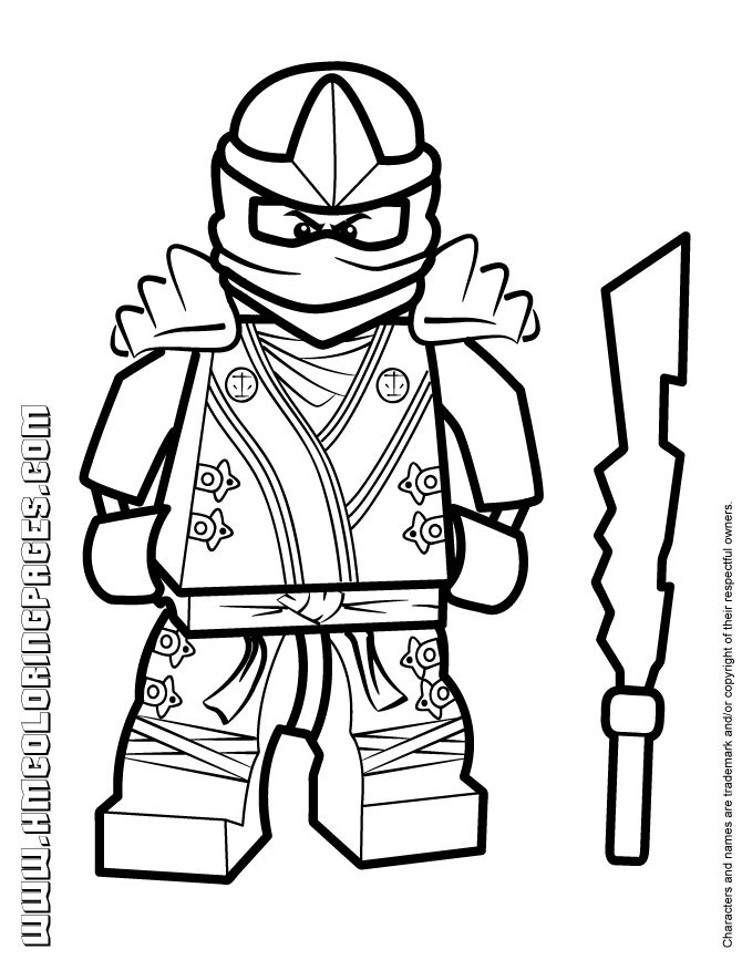 ninjago lloyd coloring pages - ninjago coloring