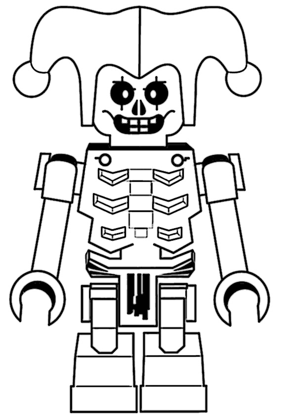 ninjago lloyd coloring pages - ninjago 7