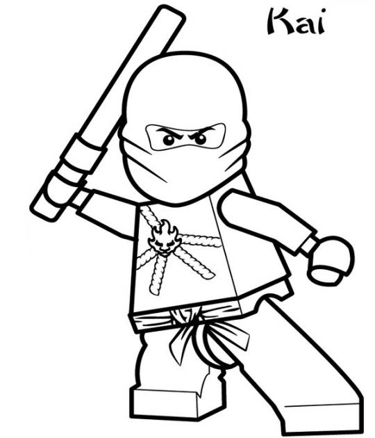 ninjago lloyd coloring pages - ninjago coloring pages