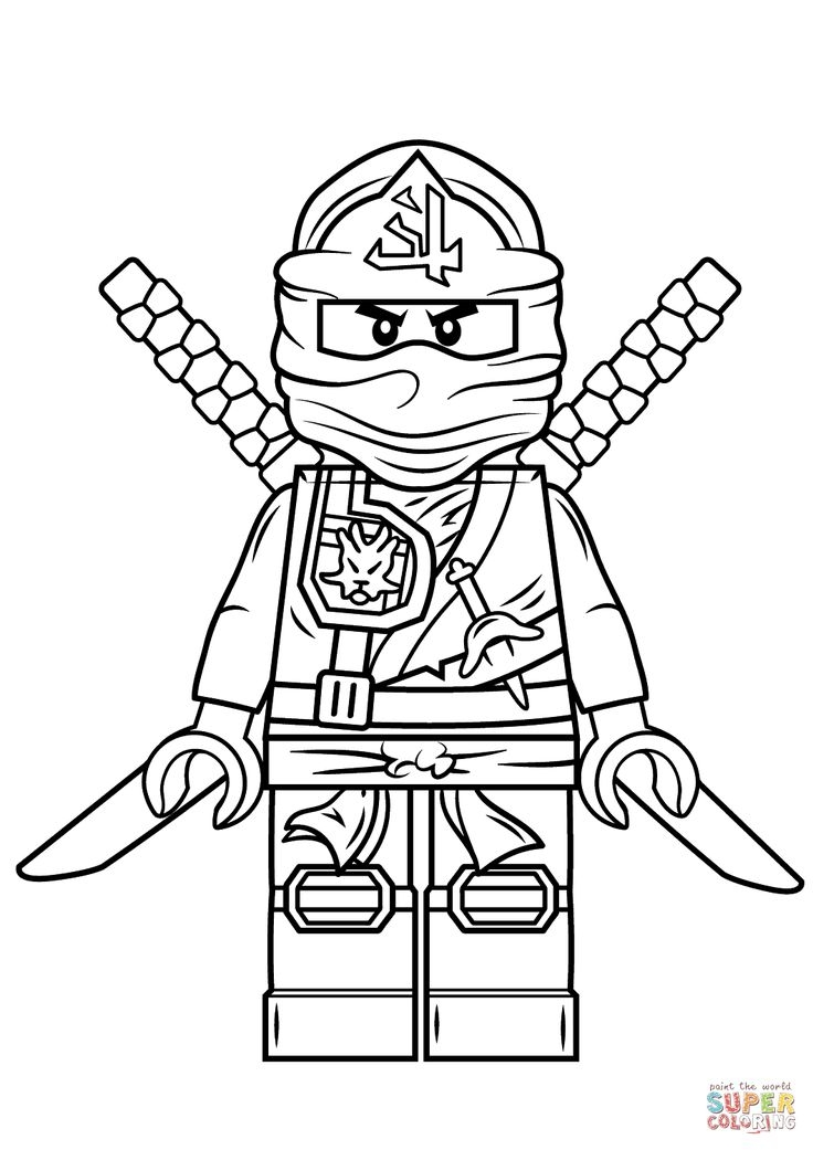 ninjago printable coloring pages - lego coloring pages