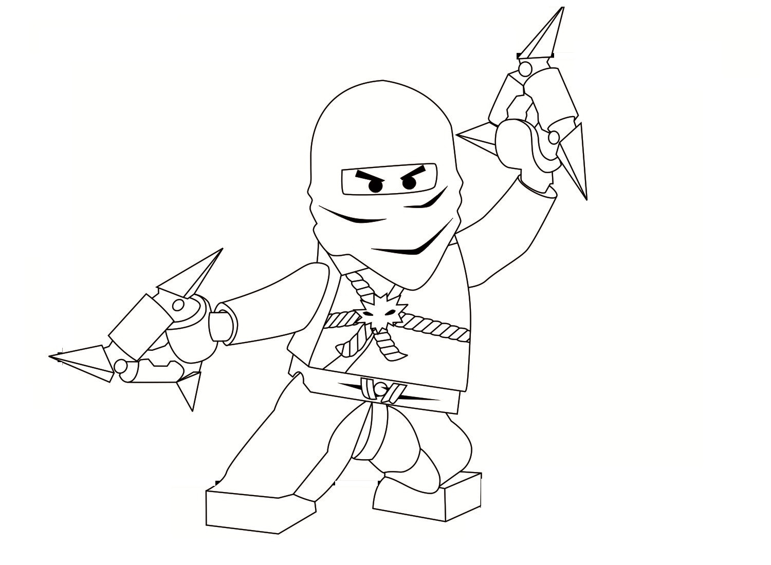 Ninjago Printable Coloring Pages - Free Printable Ninjago Coloring Pages for Kids