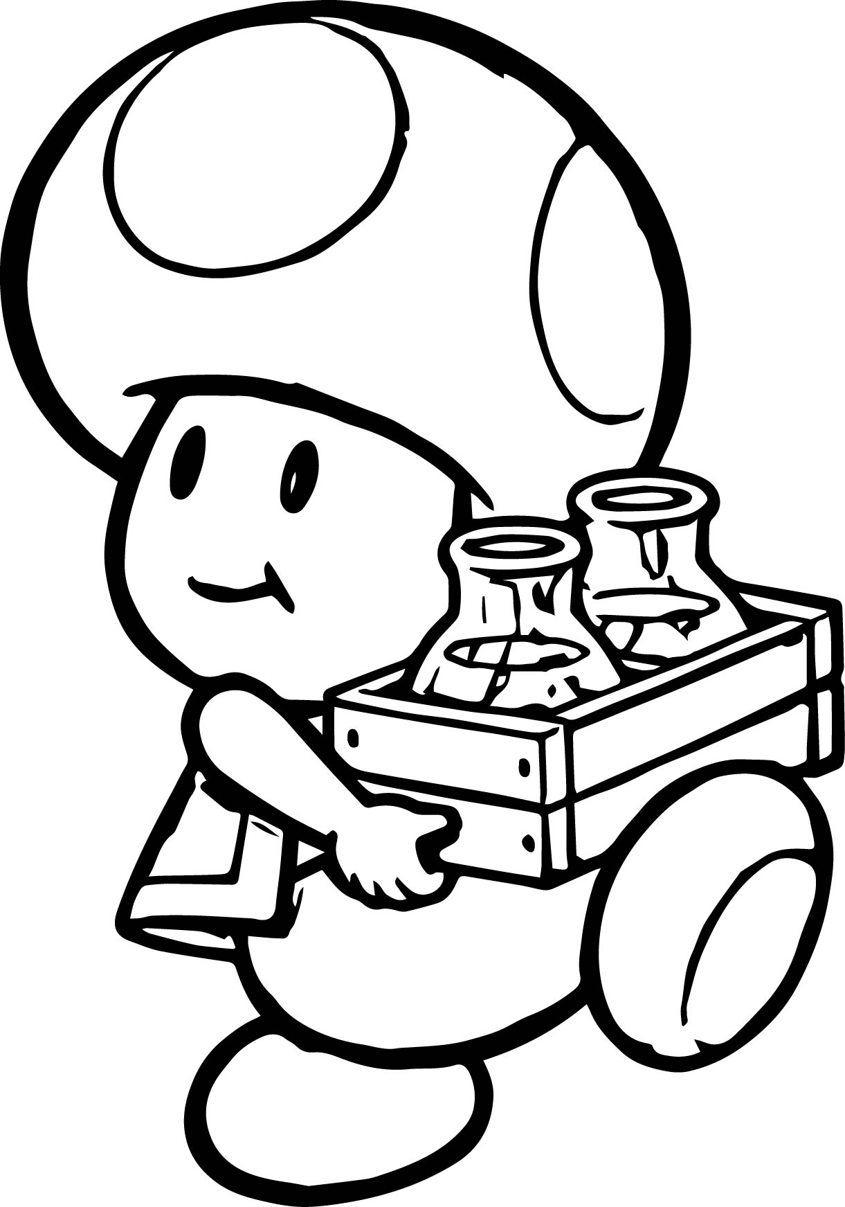 nintendo coloring pages -