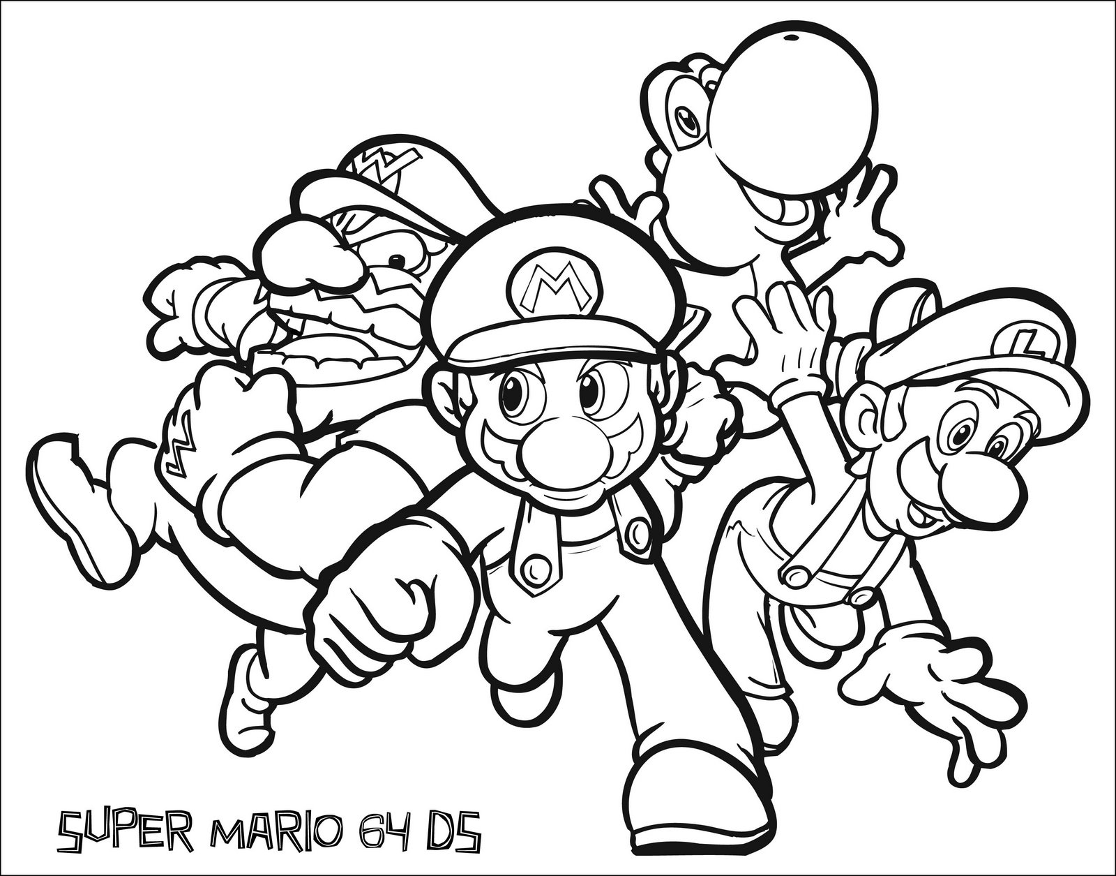 nintendo coloring pages - nintendo coloring pages
